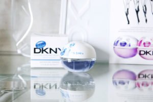 Niebieskie perfumy Donna Karan DKNY Be Delicious The Brooklyn Girl
