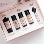 Zestaw kosmetyków Smashbox: podkład, baza pod podkład oraz korektor Smashbox
