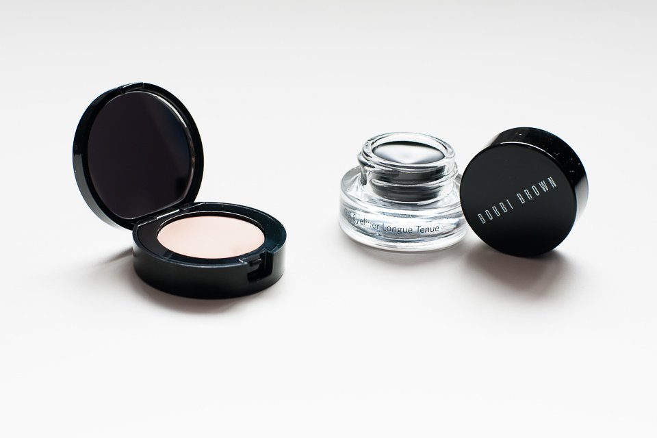Bobbi Brown Creamy Concealer i Long Wear Gel Eyeliner