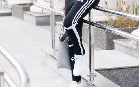 Street style look: codzienna stylizacja z dresami