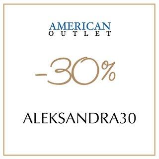 Kod rabatowy AmericanOutlet.pl -30%