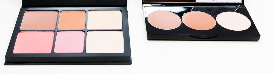 Kolory i odcienie: Smashbox Drawn in Decked out i Smashbox Contour Kit