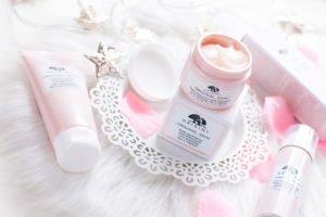 Kosmetyki Origins Original Skin: baza pod podkład, różany krem i żel oczyszczający do twarzy
