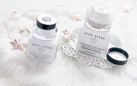 Test kremu nawilżającego Bobbi Brown Hydrating Face Cream i kremu do oczu Bobbi Brown Hydrating Eye Cream - moja recenzja i opinia