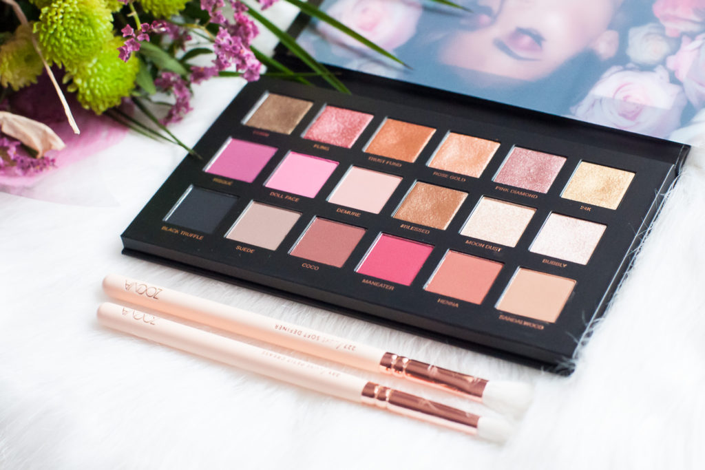 Test i recenzja paletki cieni Huda Beauty Rose Gold Remastered - opinia