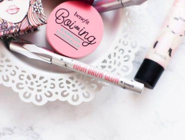 Kosmetyki Benefit Cosmetics - TOP5 produktów kosmetycznych Benefitu: Hoola, Ka-brow, Boi-ing, High-Brow Glow